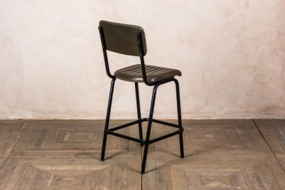 breakfast bar stool with ribbed seat