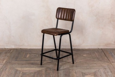 brown breakfast bar stool