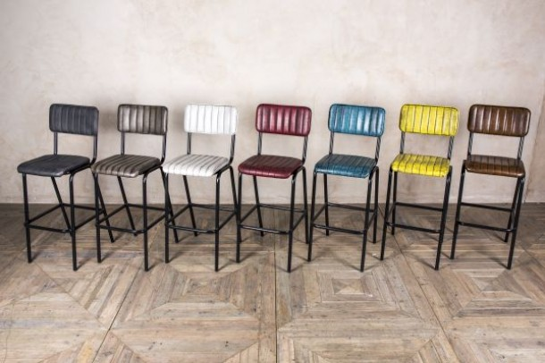 Hammerwich Contemporary Bar Stools