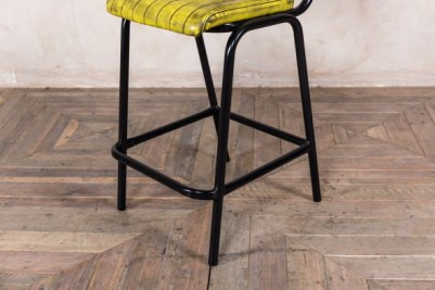 tubular steel bar stool