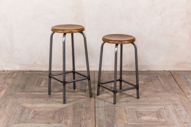 Cambridge Industrial Design Bar Stool Range
