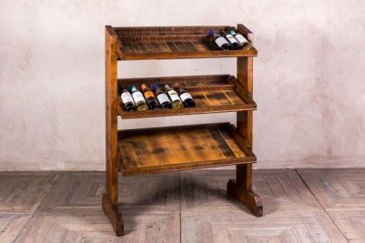 Antique Wooden Printing Rack