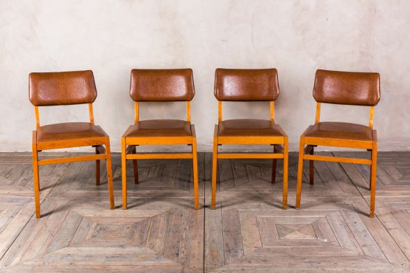 Retro Upholstered Cafe Chairs