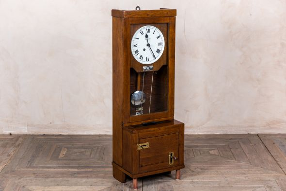 Antique Time Recorder Clocking In Clock