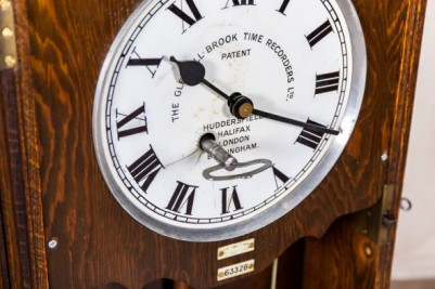 1940s Clocking-In Clock