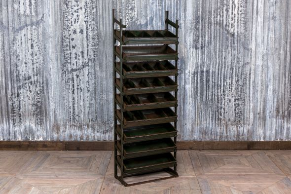 Industrial Retail Display Shelves