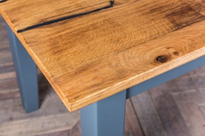 Oak and Pine Dining Table