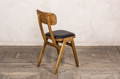 ben style chair with black seat