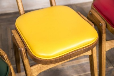 bright upholstered chairs