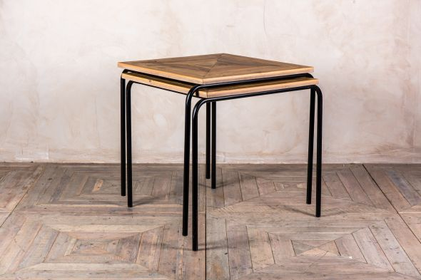 Stackable Tables with Pine Top