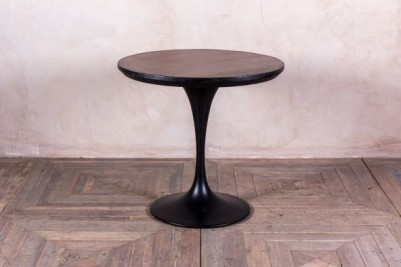 vintage style metal dining table