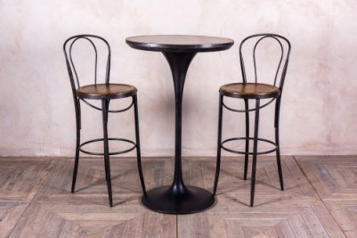 industrial style drinks table