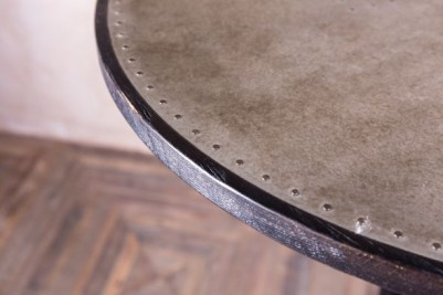 industrial style metallic table
