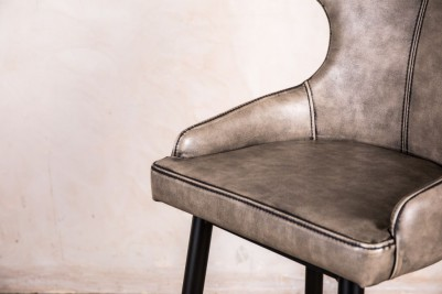 classic style grey bar stool