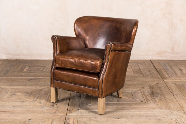 Professor Leather Armchair