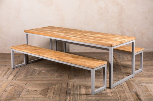 School Canteen Table and Bench Set