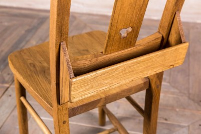 antique style chapel chairs