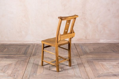 solid oak dining chairs