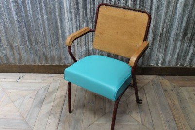 blue kitchen dining chair