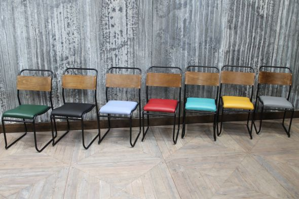 Stackable Coloured Dining Chairs