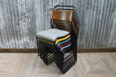 colourful upholstered chairs