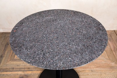 Dark Terrazzo Outdoor Dining Table