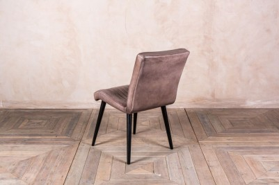 clay leather dining chair