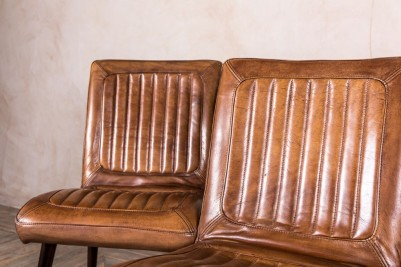 tan leather desk chair
