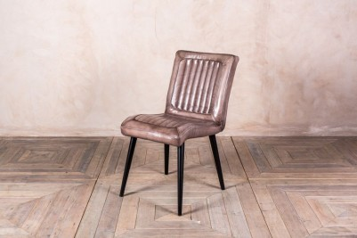 vintage style clay leather chair