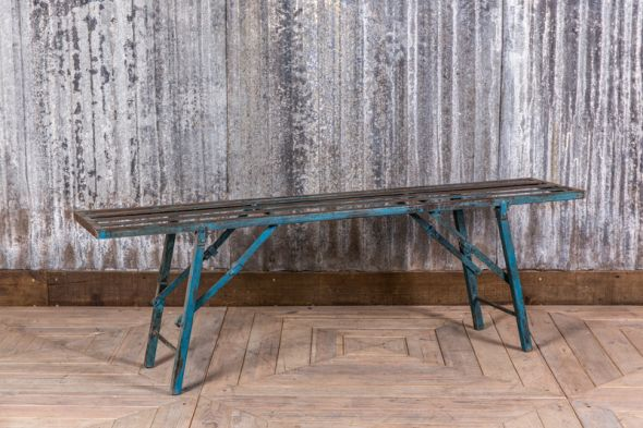 Industrial Metal Bench