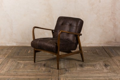 hickory brown armchair