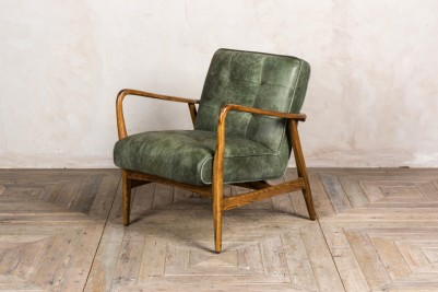 matcha vintage style lounge chair