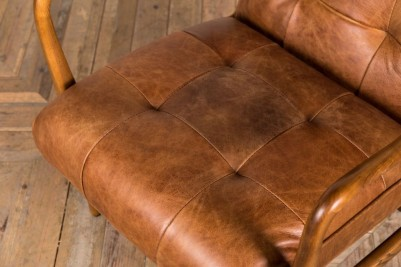 soft leather seat - tan