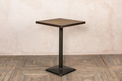 metal edge table