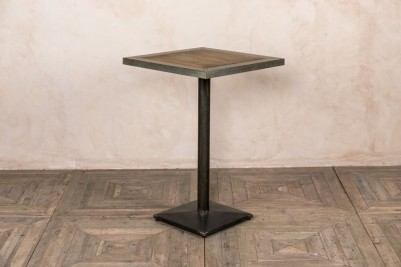 tall metal table