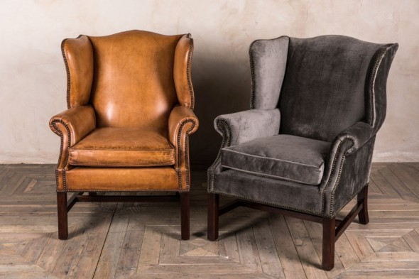 Kingston Tall Wingback Armchair Range