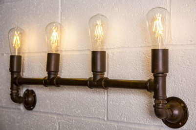 pipework wall light