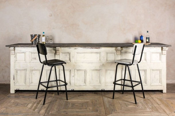 Panelled Wooden Bar