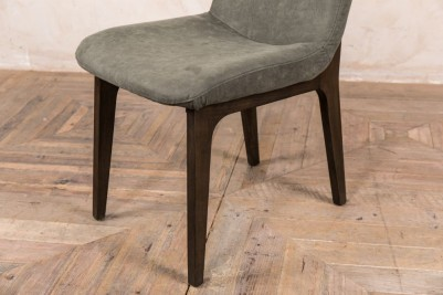contemporary sage dining chair