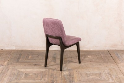 mauve dining chair