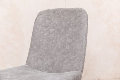 modern grey dining chair