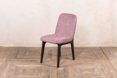 modern mauve dining chair