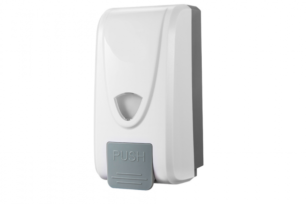 Wall Mounted Hand Sanitiser and Soap Dispenser