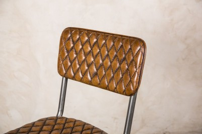quilted tan bar stools