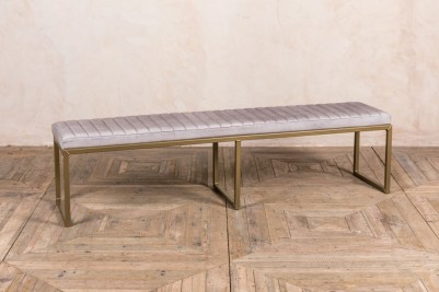 concrete matt finish dining bench