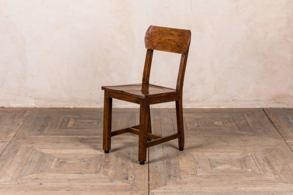 Vintage Oak School Chairs