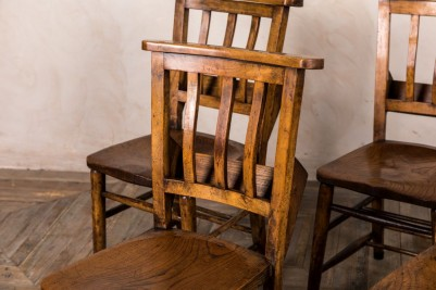 rustic chapel chair