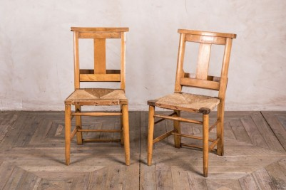 vintage chapel chairs