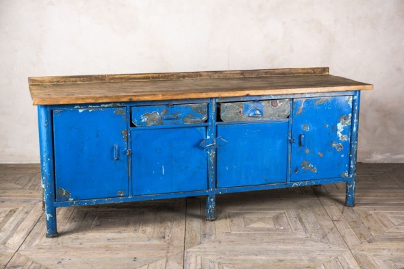 Blue Sideboard