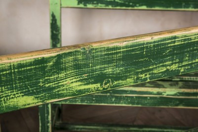 distressed vintage bench